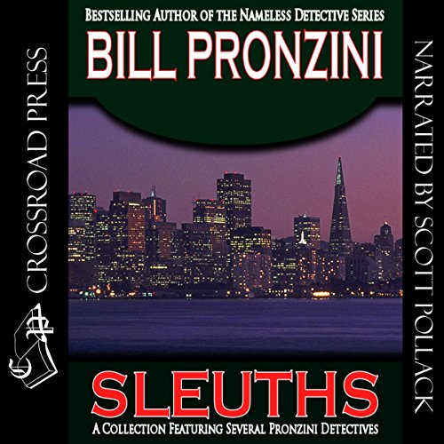 Sleuths audiobook cover art