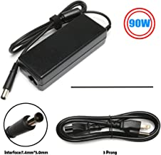 90W AC Adapter Charger Replacement for HP Probook 4530S 4540S 4520S 4535S 4525S 4545S 6450B 6460B 6465B 6470B 6540B 6545B 6550B 6555B 6560B 6565B 6475B 6570B Elitebook 8470P 8460P 8440P Power Supply