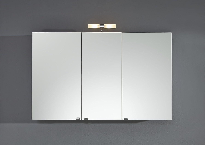 Groer Spiegelschrank mit einer Breite von 110cm in wei