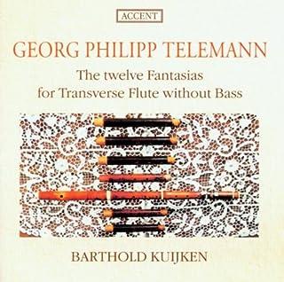 Telemann;12 Fantasias