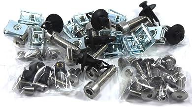 Stainless Steel Fairing Bolt Fixings Kit for Aprilia RSV 1000 1998-1999 inc 6x Hex Dzus