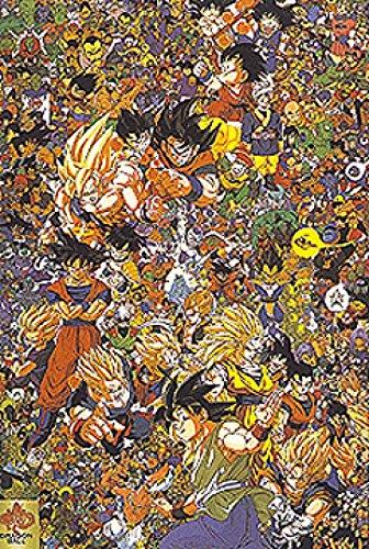 Dragon Ball Z Poster Print 39 X 28 Buy Online In Cambodia At Desertcart