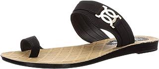 PARAGON Women's Black Solea Flip-Flops