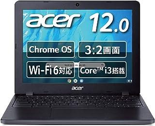 日本エイサー Google Chromebook Acer ノートパソコン C871T-A38P 12.0インチ 日本語キーボード Core i3-10110U 8GBメモリ 64GB eMMC タッチパネル搭載 米軍用規格(MIL-STD 8...