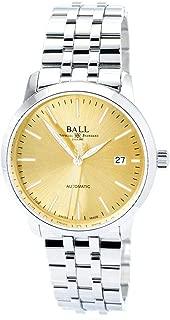 Ball NM2030D-SJ-GO Men's Trainmaster Legend Gold Tone Dial Watch