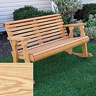 CAF Amish Heavy Duty 800 Lb Roll Back Pressure Treated Double Rocker (Unfinished)