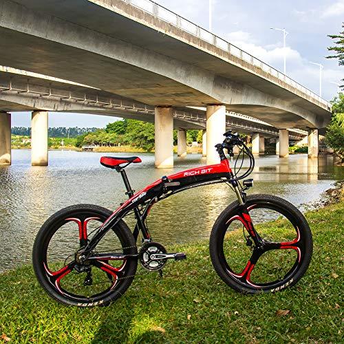 RICH BIT 880 Vélos électrique, Frein hydraulique,Rouge