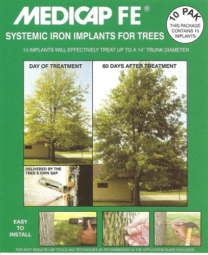 Medicap FE FE1210 Systemic Iron Tree Implant, Pack of 10