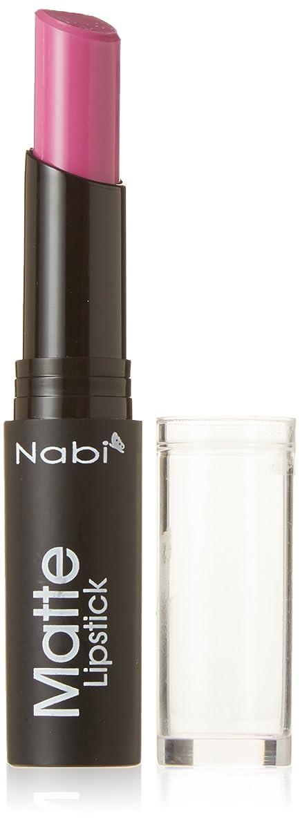 フォアマン市民ピアニストNabi Cosmetics Matte Lipstick - Matte Baby Purple (並行輸入品)