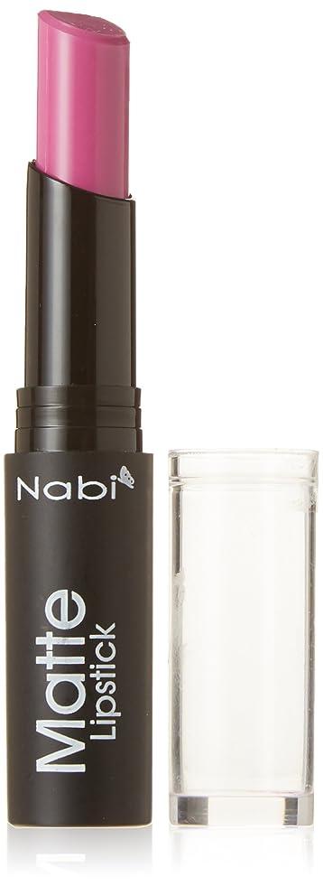 菊ショルダー真鍮Nabi Cosmetics Matte Lipstick - Matte Baby Purple (並行輸入品)