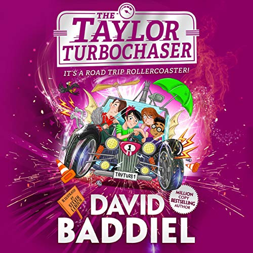 The Taylor Turbochaser audiobook cover art