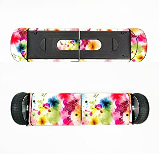 MightySkins Skin Compatible with Swagtron T8 Hoverboard - Pollinate | Protective, Durable, and Unique Vinyl Decal Wrap Cover | Easy to Apply, Remove, and Change Styles | Made in The USA