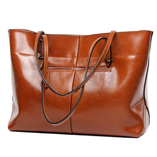 8cd9f84210 Covelin Women s Handbag Genuine Leather Tote Shoulder Bags Soft Hot