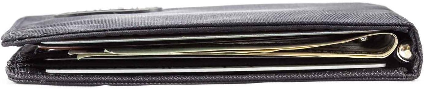 Big Skinny Men's Acrobat Money Clip Slim Wallet, Holds Up to 20 Cards