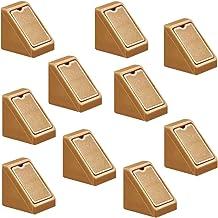 Gedotec Meubelverbinders, kast, universele hoekverbinder, beige - H9580, achterwand-connector met afdekkap, hoekhoek van k...