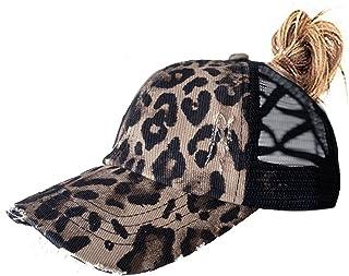 کلاه بیس بال زنانه کلاه بیس بال Criss Cross شسته شده کلاه بیس بال کلاه مردانه کلاه دم اسبی برای زنان