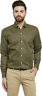 Jainish Cotton Shirt for Men's (Black)