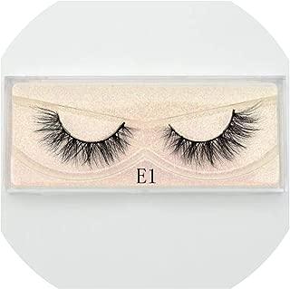 Mink Eyelashes Natural False Eyelashes Fake Eye Lashes Long Makeup 3D Mink Lashes Extension Eyelash Makeup for Beauty,E01