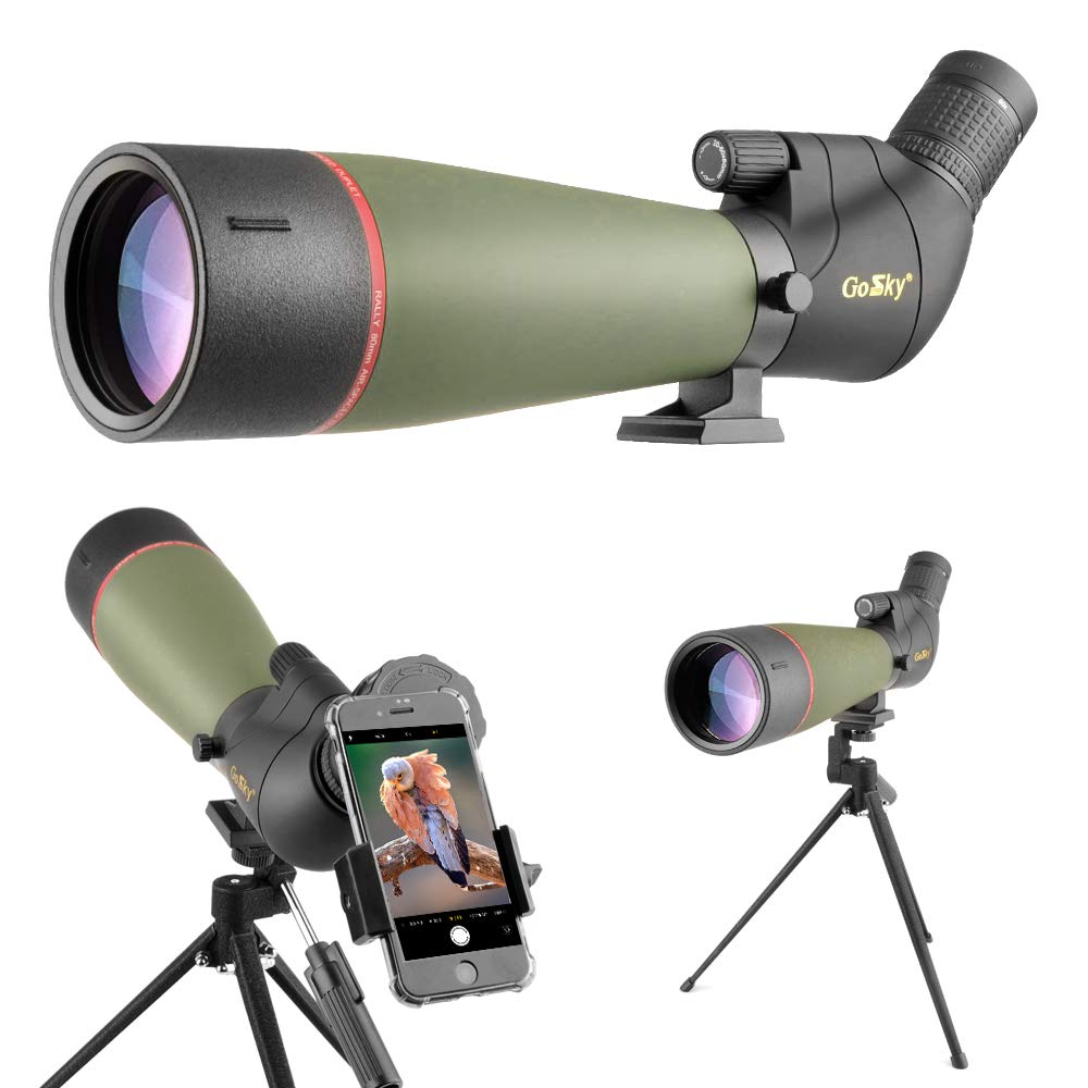 Gosky 20 60x80 Spotting Carrying Smartphone