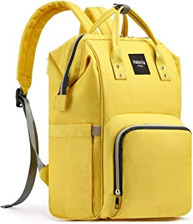 Best yellow backpack diaper bag Reviews