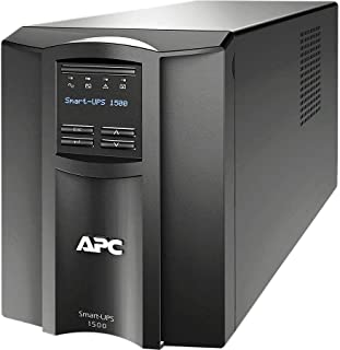 APC SMT1500I Smart-UPS 1500VA LCD 230V Black
