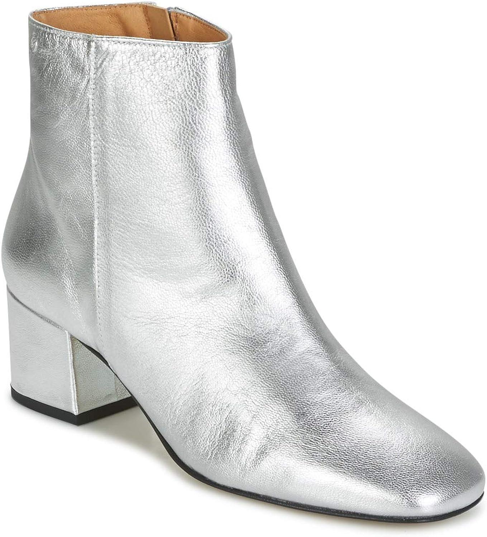 Betty london Hermina Stiefelletten Stiefel Damen Silbern - 37 - Low Stiefel
