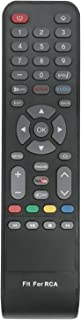 New Replace Standard IR Remote Control fit for RCA Smart LED LCD TV WX15244 WX15284 WX15163 SLD32A30RQ SLD32A45RQ SLD40A45RQ SLD40HG45RQ SLD50A45RQ with Netflix Vudo You Tube Internet Shortcut App Key