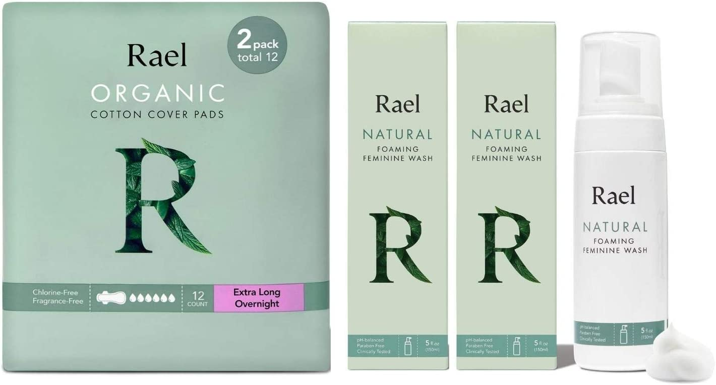 Rael Natural Super beauty product restock quality top! Foaming Feminine Wash 2 oz Co 10 Organic and Pack Limited Special Price