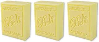 Bela Bath & Beauty, Honeysuckle, Triple French Milled Moisturizing Soap Bars, No Harsh Ingredients, 3.5 oz each - 3 Pack