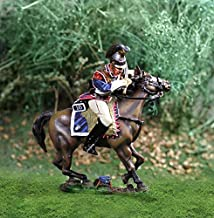 Napoleonic Toy Soldiers French Cavalry Curassier Canting Collectors Showcase Toy Soldiers Painted Metal Figure CS00814 Britains King Country Type