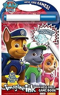 Nickelodeon Bendon Paw Patrol Imagine Ink: Mess Free Game Book