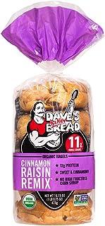 Dave's Killer Bread Organic Cinnamon Raisin Bagels - 16.75 oz Bag