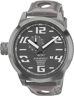 HM-05 - Reloj de Pulsera para Hombre, Color Gris