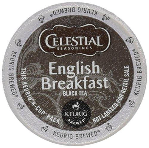 Celestial Seasonings, English Breakfast Black Tea, K-Cup Portion Pack...