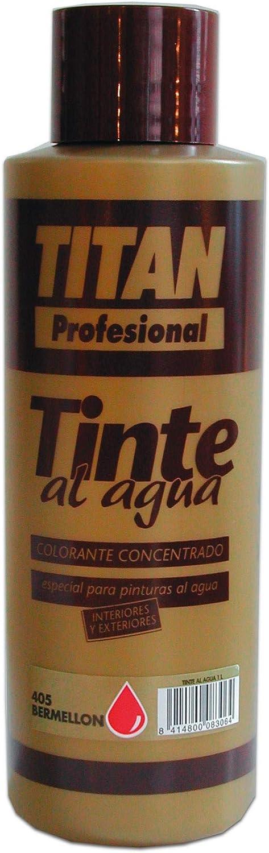 Titan - Tinte al agua Colorante Concentrado Titan Profesional 1 ...