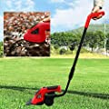 3.6V 2In1 Li-Ion Cordless Electric Hedge Trimmer Grass Brush Cutter Mini Lawn Mower Rechargeable Battery Garden Tool