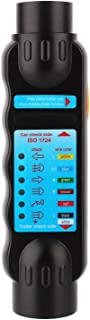 Trailer Tester Tool, 7Pin 12V Car Towing Trailer Plug Socket Connection Tester Diagnostic Tool Black