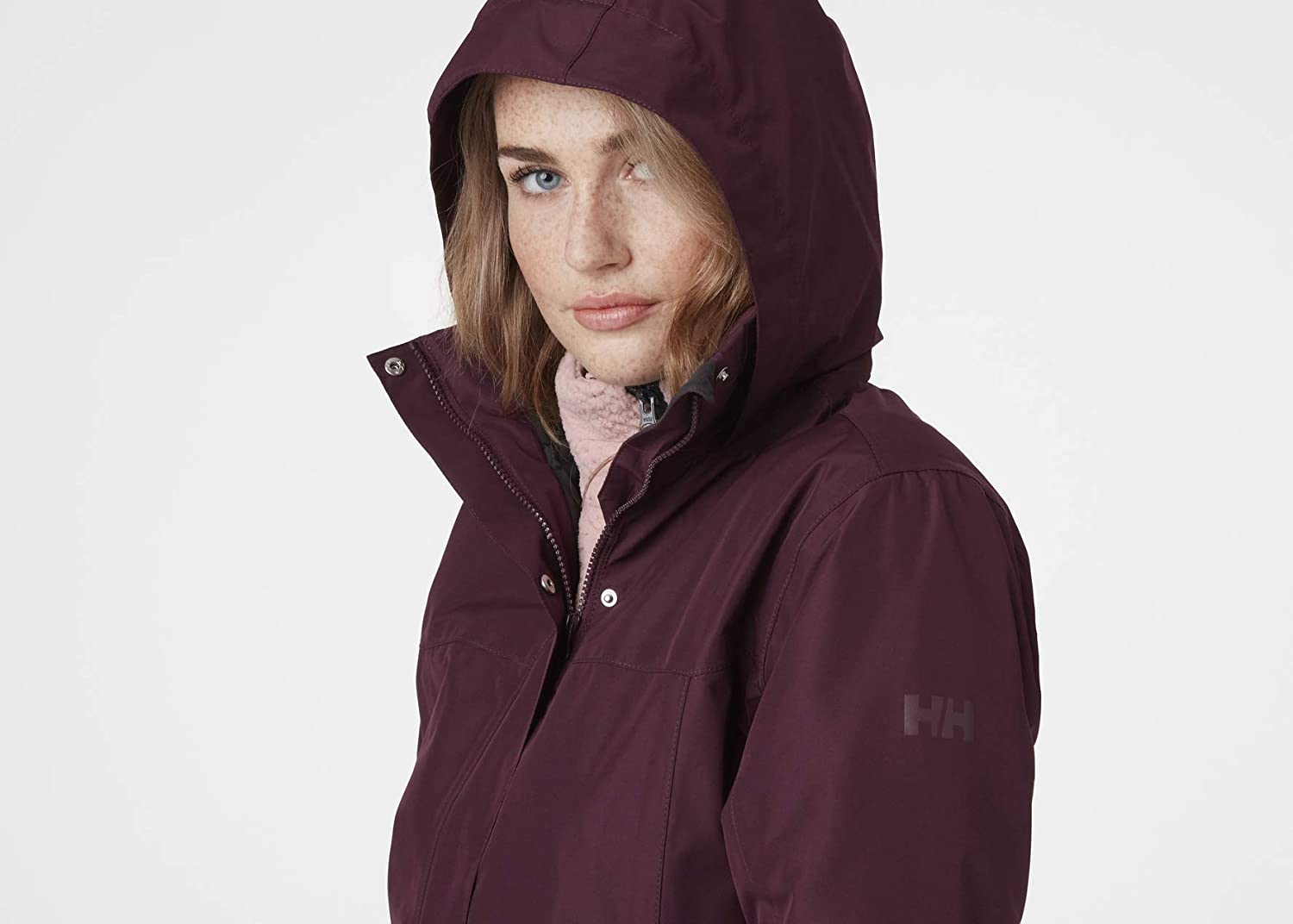 Helly-Hansen Damen Aden Insulated Mantel Mantel Wild Rose