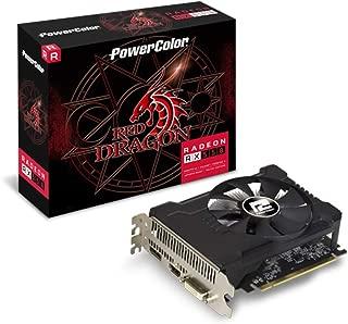 PowerColor AXRX 550 2GBD5-DHA/OC AMD Radeon Red Dragon RX 550 Graphic Cards