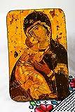 Icono religioso hecho a mano articulo religioso cristiano decoracion de...