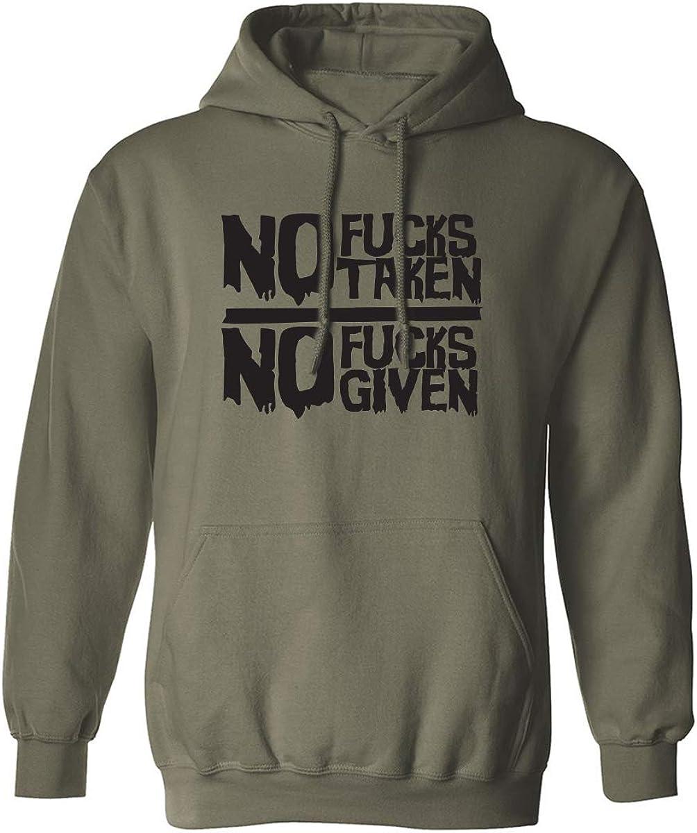 No Fucks Taken No Fucks Given Adult Hooded Sweatshirt