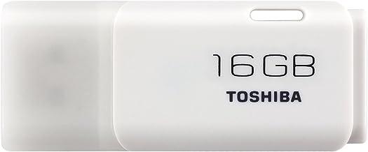 Toshiba Hayabusa Pendrive 16GB, Chiavetta USB 2.0, 18 MB/s, Bianco