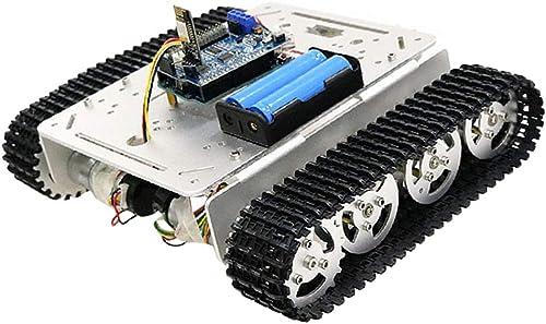 F Fityle WiFi Panzer Chassis Roboter Plattform Tank Fahrgestell für Arduino, ca. 268 x 219 x 71mm