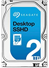 (Old Model) Seagate 2TB Desktop Gaming SSHD(Solid State Hybrid Drive) SATA 6Gb/s 64MB Cache 3.5-Inch Internal Bare Drive (ST2000DX001)