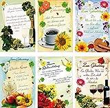 100 Glückwunschkarten zum Geburtstag Sprüche 51-5702 Geburtstagskarte Grußkarte