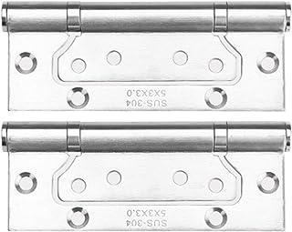 7haofang Rotating Hinge 360 Degree Stainless Steel Door Pivot Up Down Shaft 75//95//100mm
