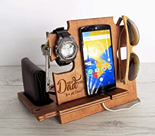 Father's Day Gift, Docking Station, Gift for Dad, Christmas Gift, Anniversary Gift, Gift for Husband, Gift for Him, Gift f...