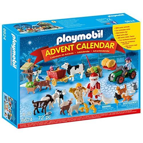 Playmobil 6624  - Calendario dell'Avvento Natale nella Fattoria, Multicolore