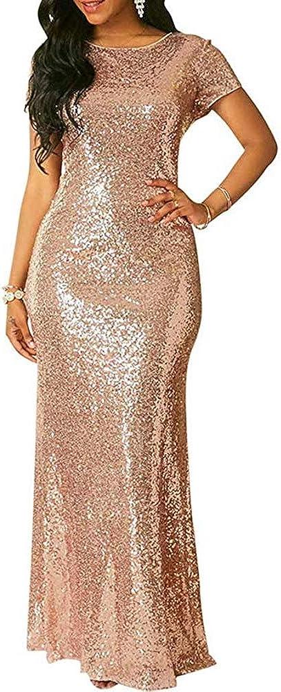 PROMLINK Sequin Bridesmaid Prom Price reduction Dresses Gown Columbus Mall Lon Mermaid Evening
