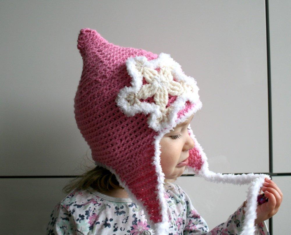 Knit Hat Pattern Snowflake   1000 Free Patterns